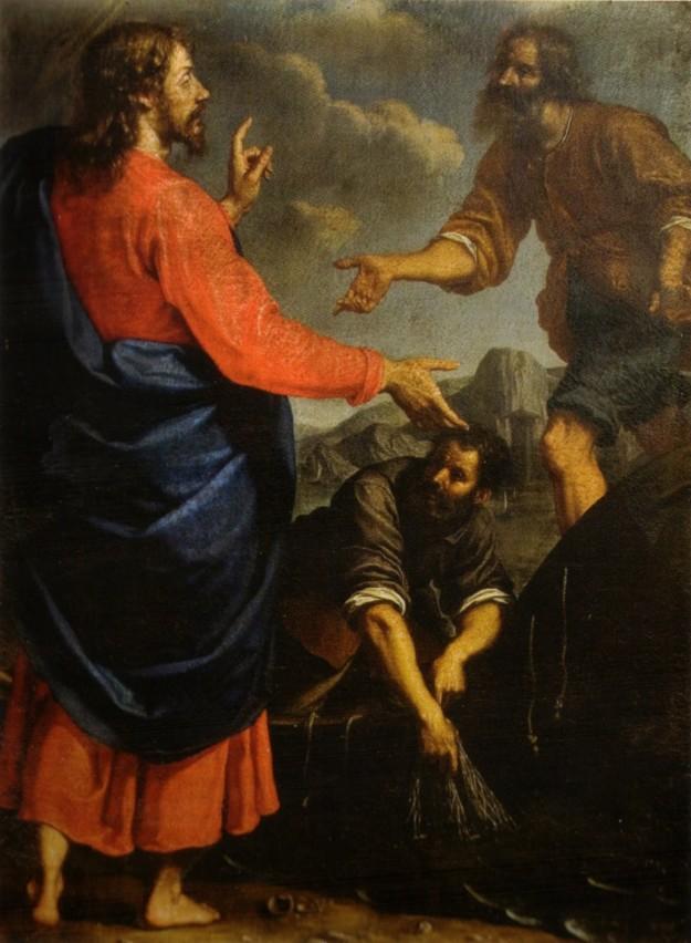 Ottavio Vannini, vocación de san Andrés y san Pedro