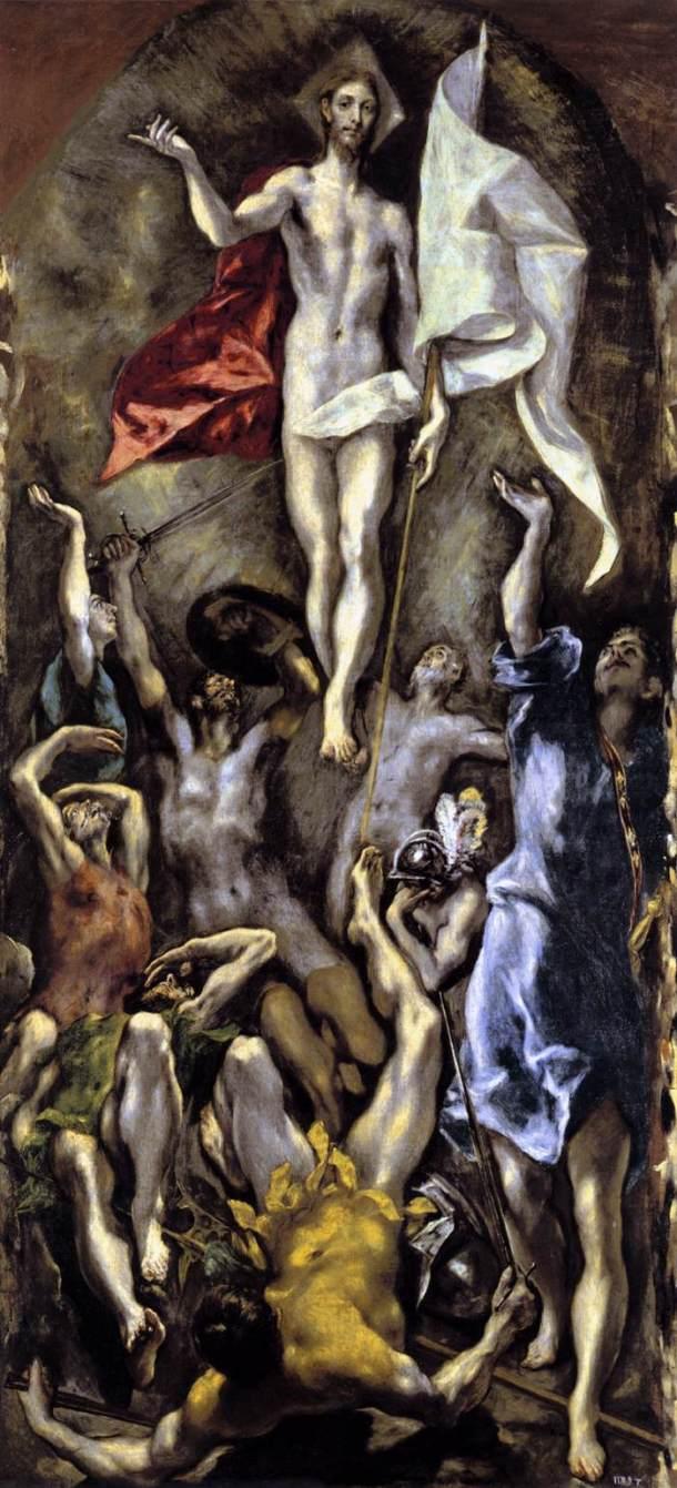 El Greco, Cristo resucitado