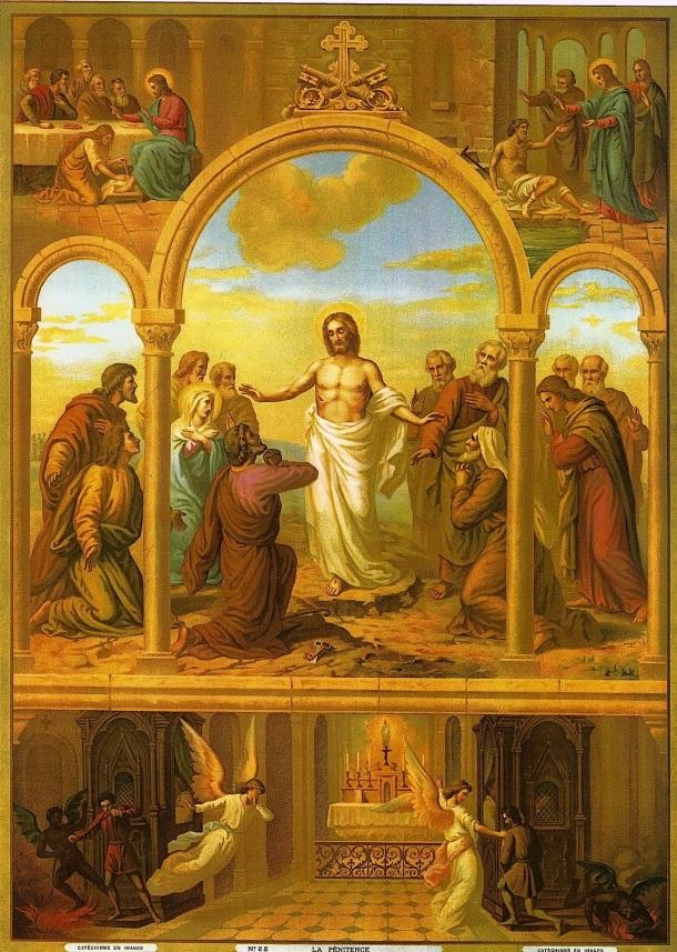 Catequesis en imágenes: La Confesión