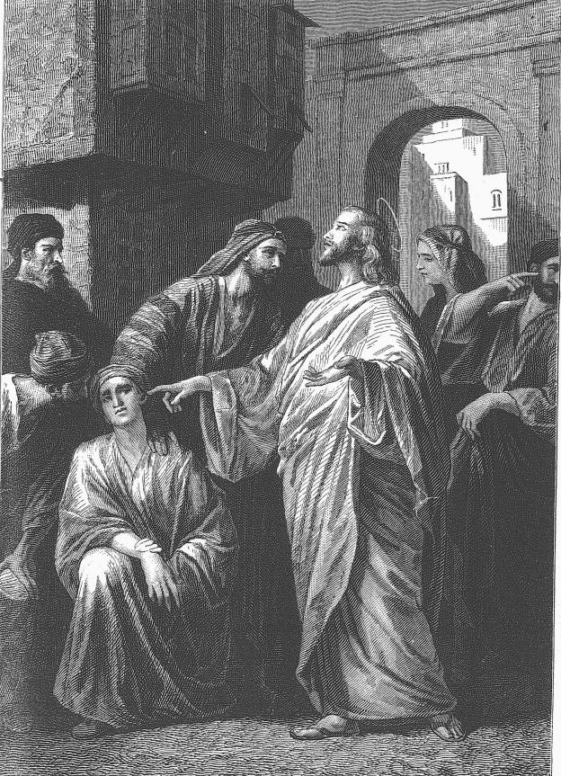 Alexander Bida, Jesús cura al sordomudo