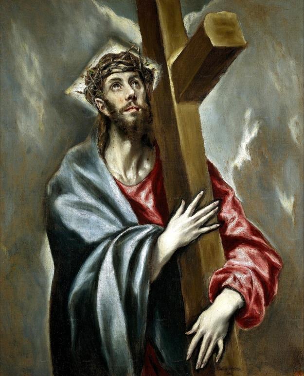 El Greco, Cristo abrazado a la cruz (Museo de El Prado)