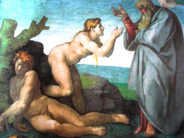 Miguel Ángel, La creación de Eva, Capilla Sixtina