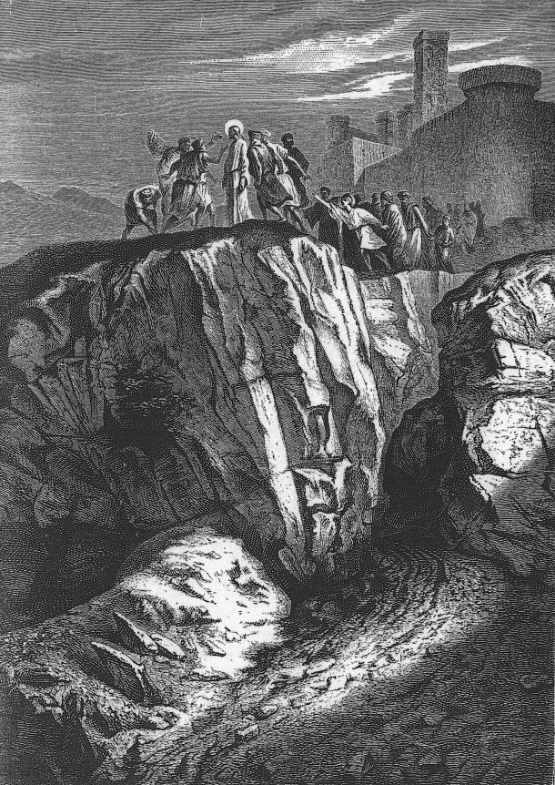 Alexandre Bida, Jesús rechazado en Nazaret