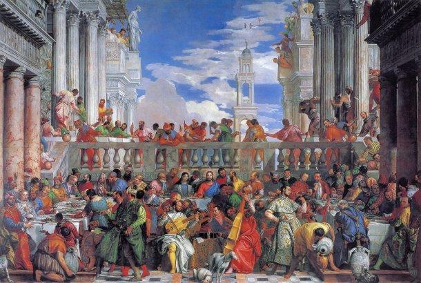 Las bodas de Caná-Paolo Verones