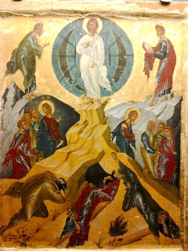 La Transfiguración, Anónimo, Benaki Museum