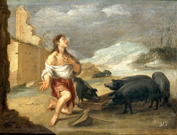 Murillo, El hijo pródigo