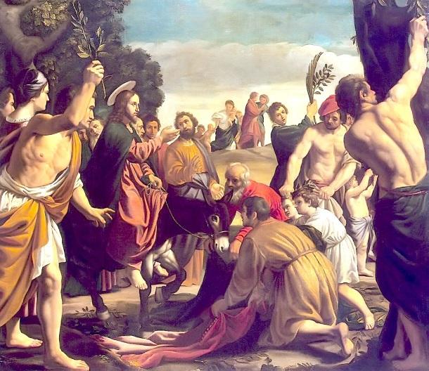 Entrada de Jesús en Jerusalen, Pedro Orrente c1620