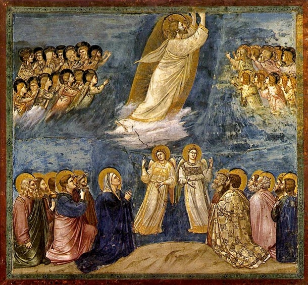 Giotto, La Ascension