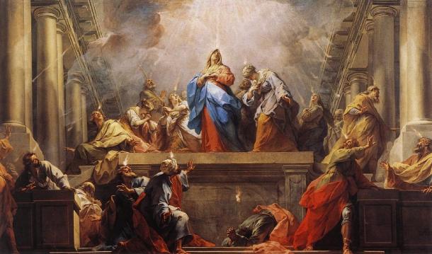 Jean II Restout, Pentecostés