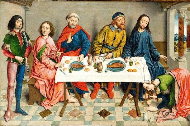 Jesús en casa de Simón el fariseo (Albrecht Bouts)