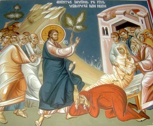 Resurrección del hijo de la viuda de Naím, Iglesia greco-católica rumana