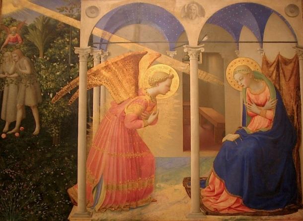 Fray Angélico, Anunciación