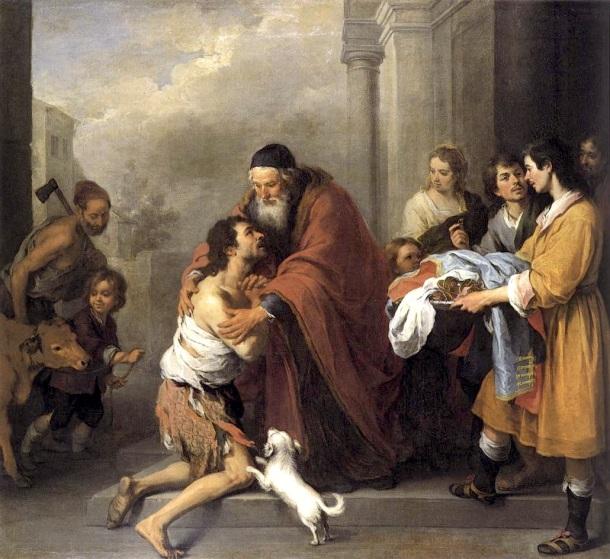 El hijo pródigo, Bartolomé Esteban Murillo