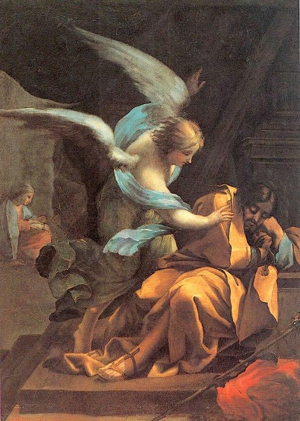 Goya, El sueño de San José