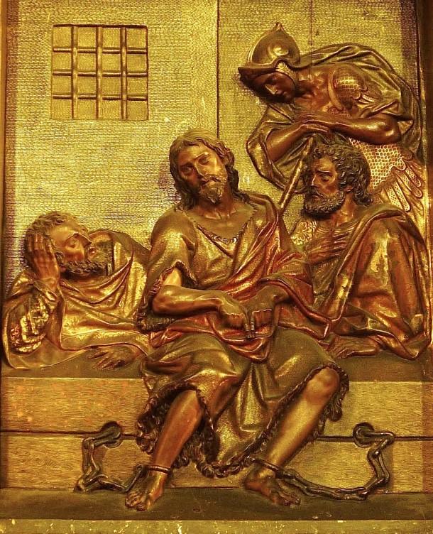 Juan bautista en prisión con discípulos, Juan Martínez Montañés